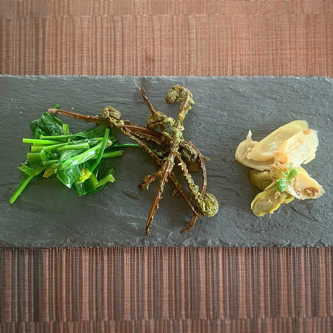 山菜3種盛り